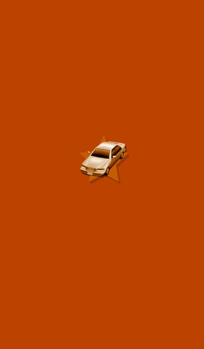 Simple Orange Car