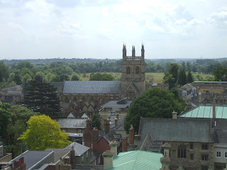 A view of Merton College from the St Marys in the North, including the chapel - photo Ozeye, Wikimedia Commons