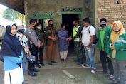 Serda M. Saleh Ikut Menyerahkan BLT-DD Tahap III di Desa Rantau Api