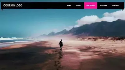 Ribbon Style Navigation Menu using HTML and CSS