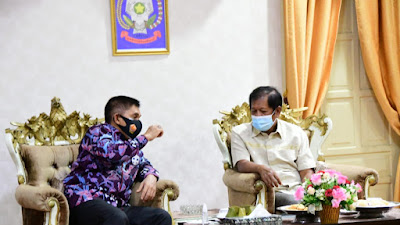 Kunker, Kasdam XIV/Hasanuddin Disambut Bupati Soppeng