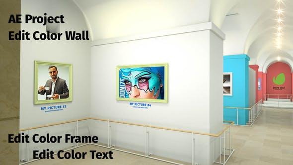 Videohive - Louvre Petite Art Gallery - 28598740