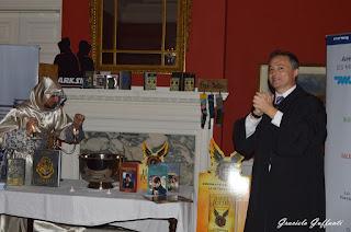 20 años de Harry Potter. Embajada Británica. Uruguay. Ian Duddy