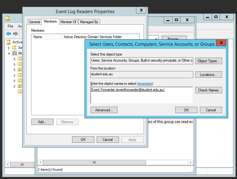how to create event log in windows 7