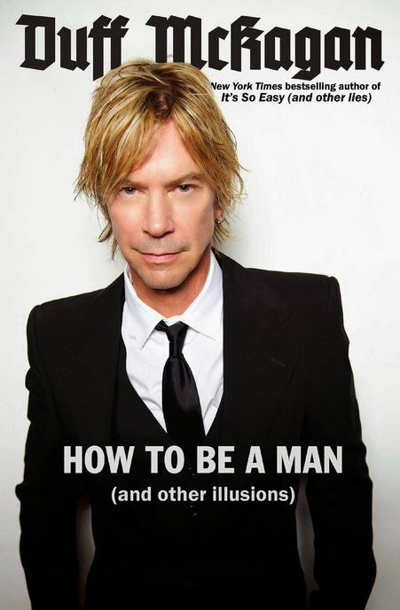 duff mckagan - how to be a man - book cover