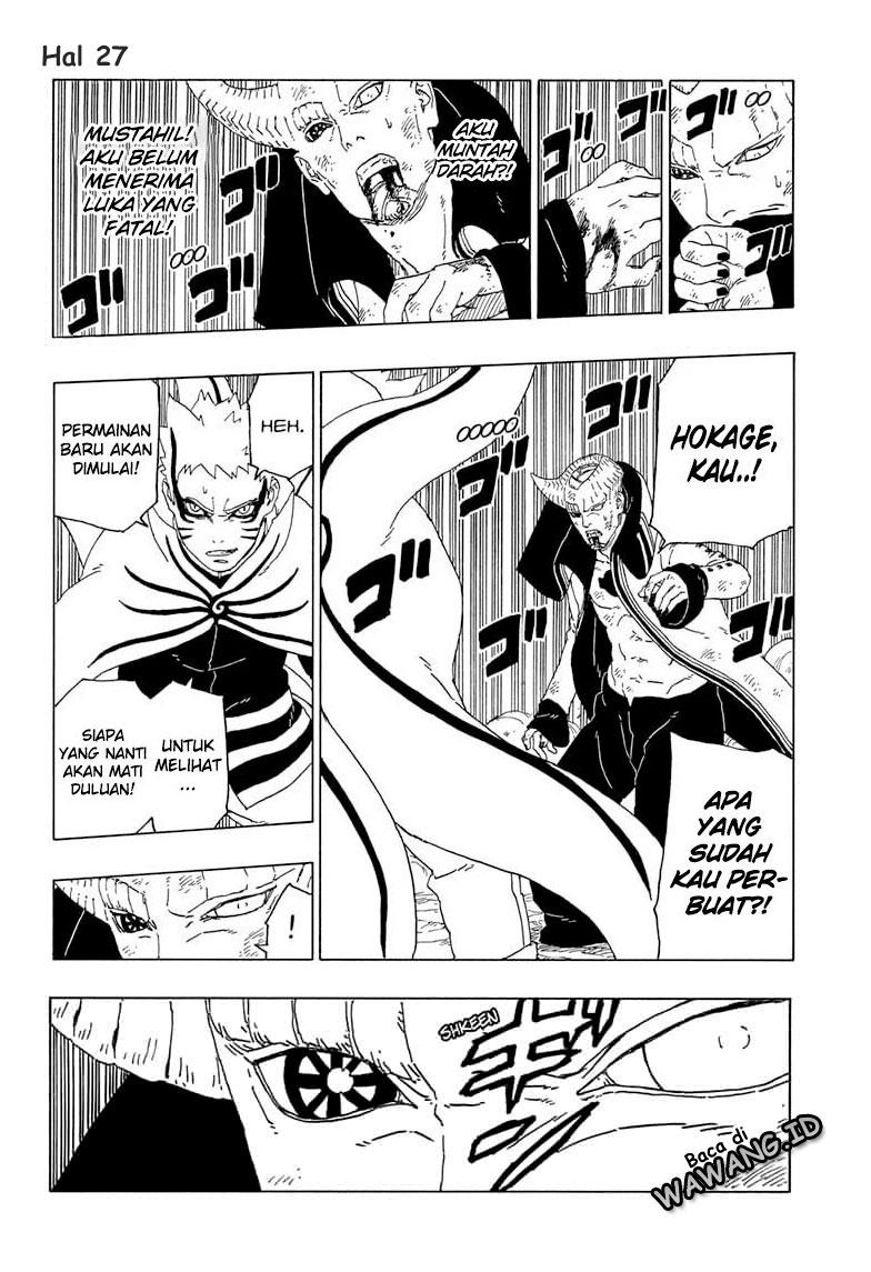 Manga Boruto Chapter 52
