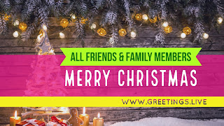 Christmas new greetings in English