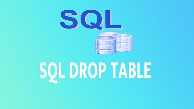 SQL DROP TABLE