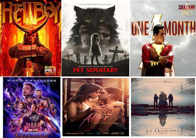 Film Indonesia Terbaik dan Film Hollywood Seru Bulan April 2019