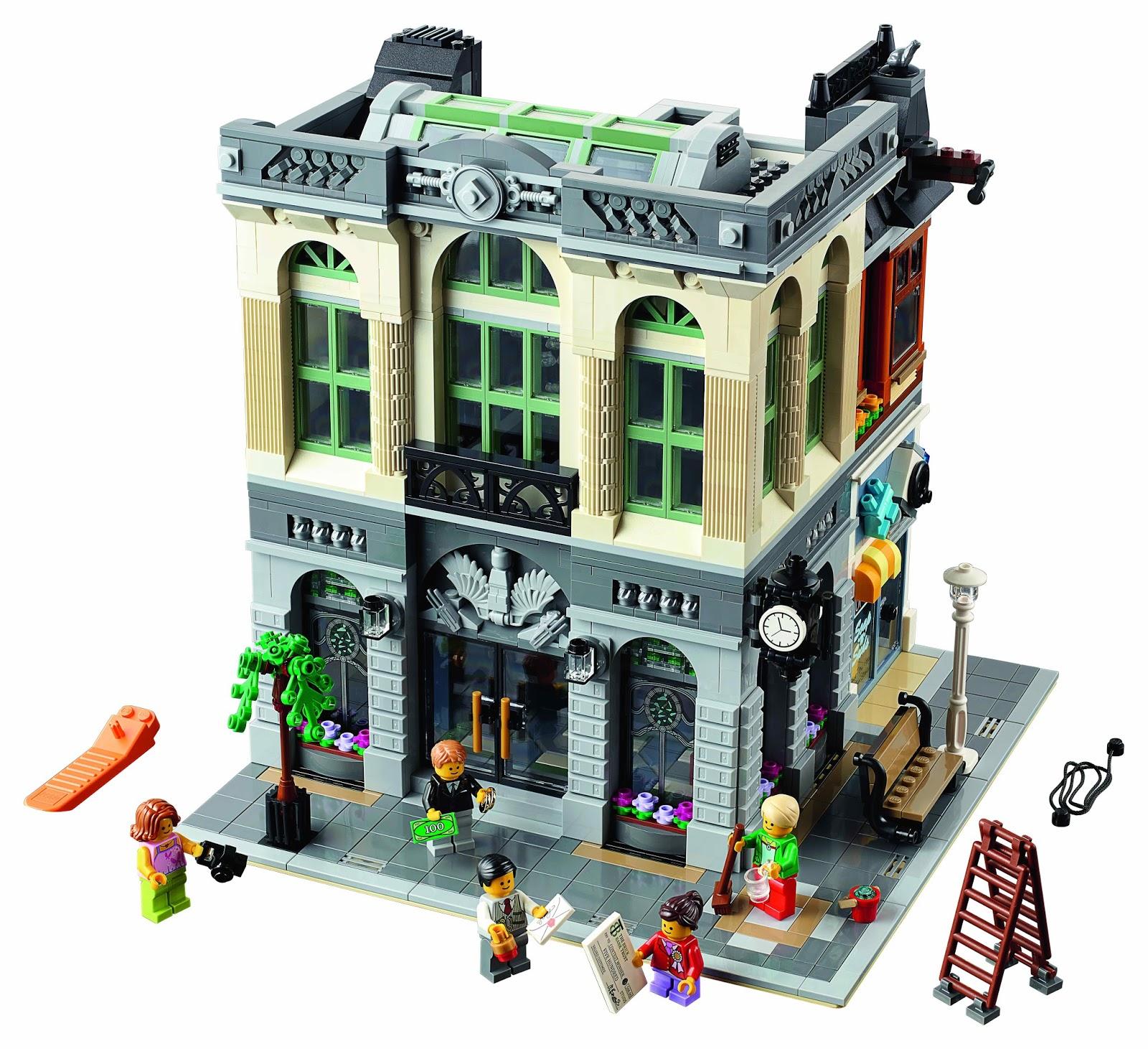 lego gossip 121015 lego 10251 brick bank pictures. Black Bedroom Furniture Sets. Home Design Ideas