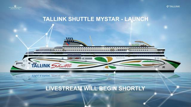 Tallink Grupp, MyStar, Christening and launching on 12 August 2021