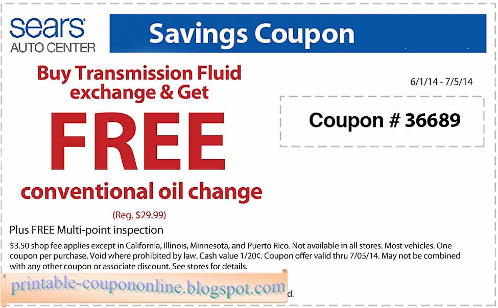 Sears outlet free shipping coupon code