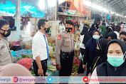 Jelang Ramadhan, Polsek Enrekang Lakukan Patroli Pasar