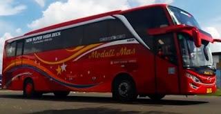 Harga Tiket Bus Medali Mas Malang