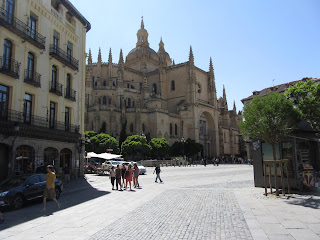 Catedral de Segovia, al lado de la Plaza Mayor