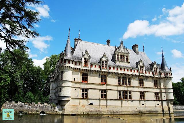 Castillo de Azay-le-Rideau, Valle del Loira
