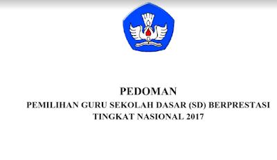 Panduan/Dokumen Guru Berprestasi Tingkat Nasional Untuk Guru Sd