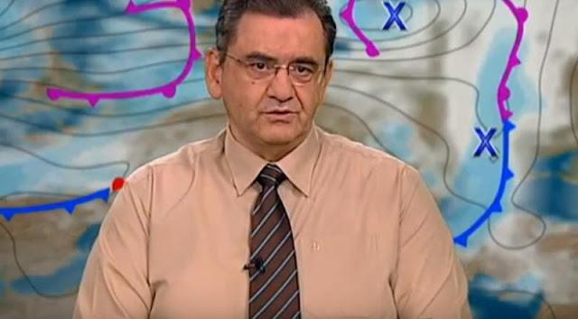 Θοδωρής Κολυδάς: Πτώση της θερμοκρασίας από την Πέμπτη (βίντεο)