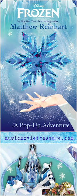 Disney Frozen A Pop-Up Adventure Book