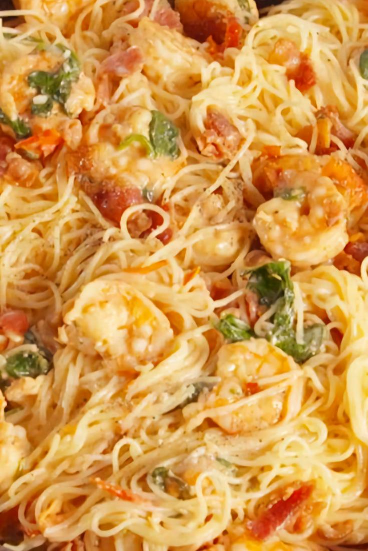 Bacon Shrimp Pasta Recipe
