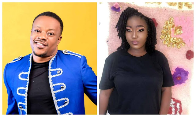 Gospel singer, Lanre Teriba's baby mama calls him out over his refusal to pay for their Child School fees