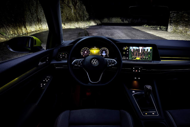 VW Golf 8 preparado para o sucesso no versão europeu