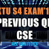 KTU S4 Previous Question Paper for CSE May-17 Exam