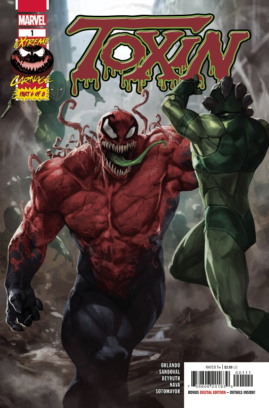 Extreme Carnage: Toxin #1