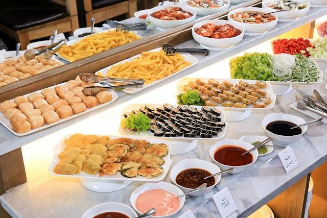 Dịch vụ tiệc buffet lưu động tại Hà Nội