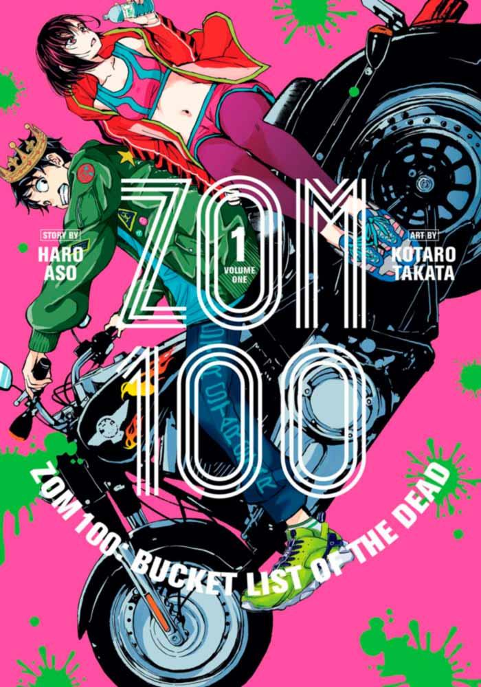 Zombie 100 (Zom 100: Zombie ni Naru made ni Shitai 100 no Koto) manga - Haro Aso y Kotaro Takata - Panini Comics España