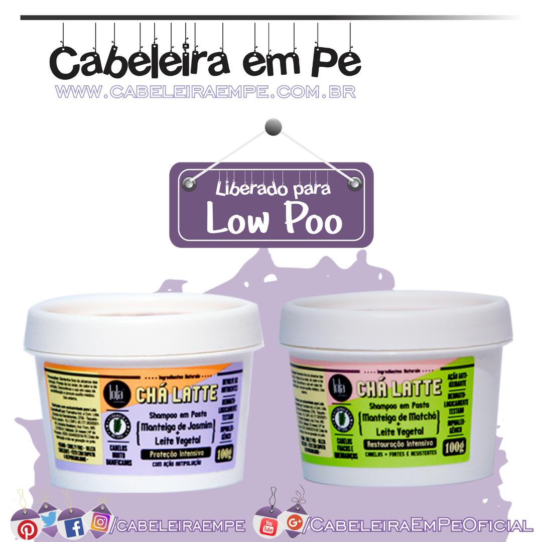 Shampoo em Pasta Chá Latte Matchá e Jasmin - Lola (Low Poo)