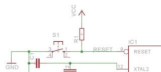 Cara Membuat Skematik Rangkaian Sistem Minimum Atmega16 Pakai Software Eagle
