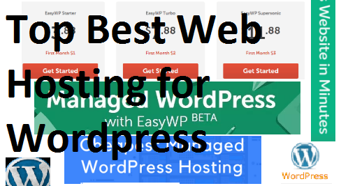 Top Best Web Hosting for Wordpress (Best WordPress Hosting)