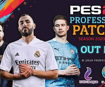 PES 2019 Professionals Patch V3 AIO Season 2020/2021