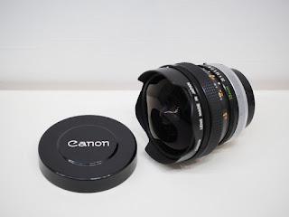 キヤノン FISH-EYE FD 15mm F2.8 S.S.C. 魚眼レンズ お買い取り致しました