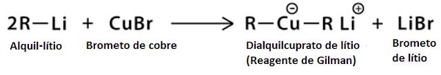 preparo reagente Gilman - etapa 2