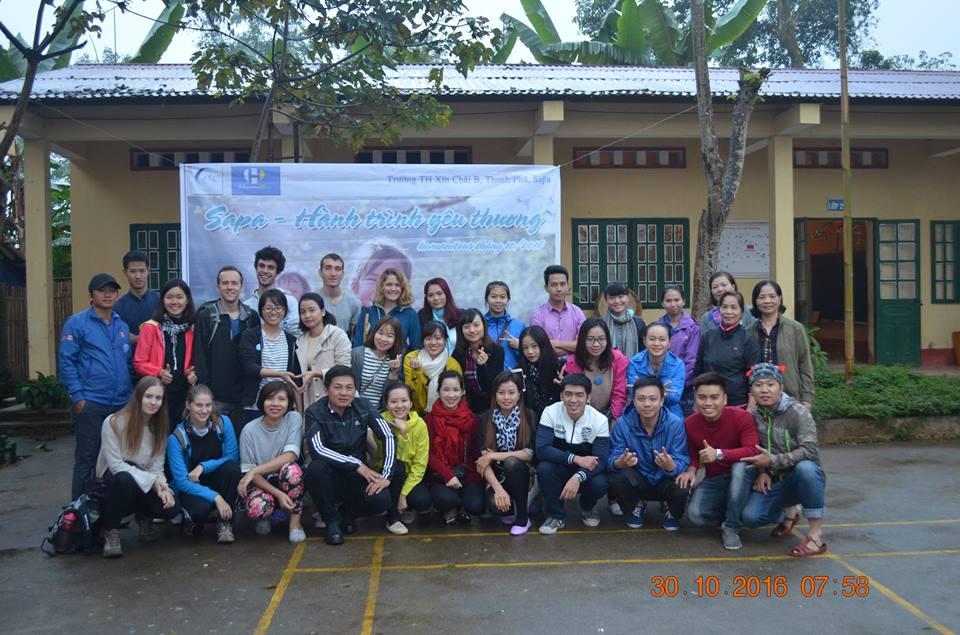 Dạy tiếng Anh cho trẻ em tại Sapa