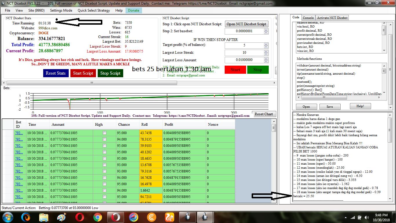 Script 999dice: Download Script Dice Dan Bot NTC