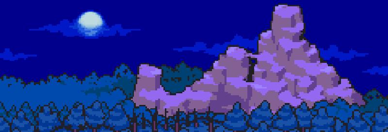 Mother 3 - Banner bosque montaña