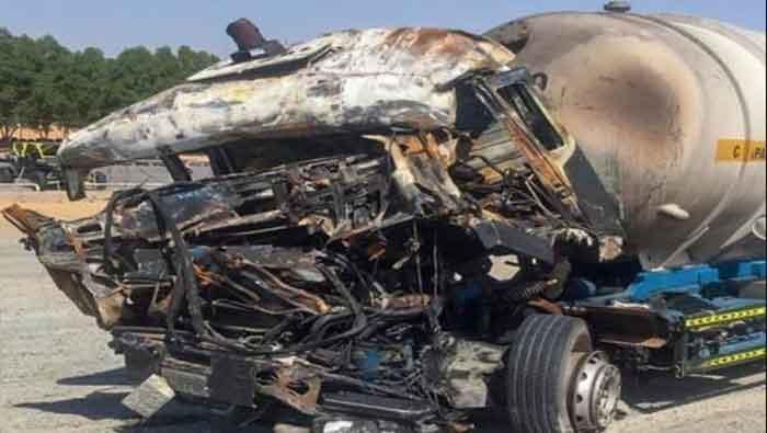 Sharjah, News, Gulf, World, Top-Headlines, Injured, Death, Accident, Police, Sharjah: Two died in three-truck crash