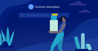 Can I share a Facebook Marketplace listing to Facebook or Messenger?