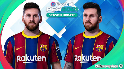 PES 2021 Faces Lionel Messi
