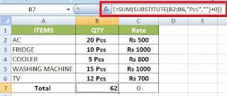 How to Sum Numbers with Units in a Range in Excel in Hindi