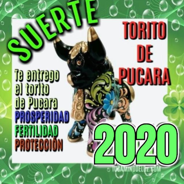 Torito de Pucara suerte  año 2020
