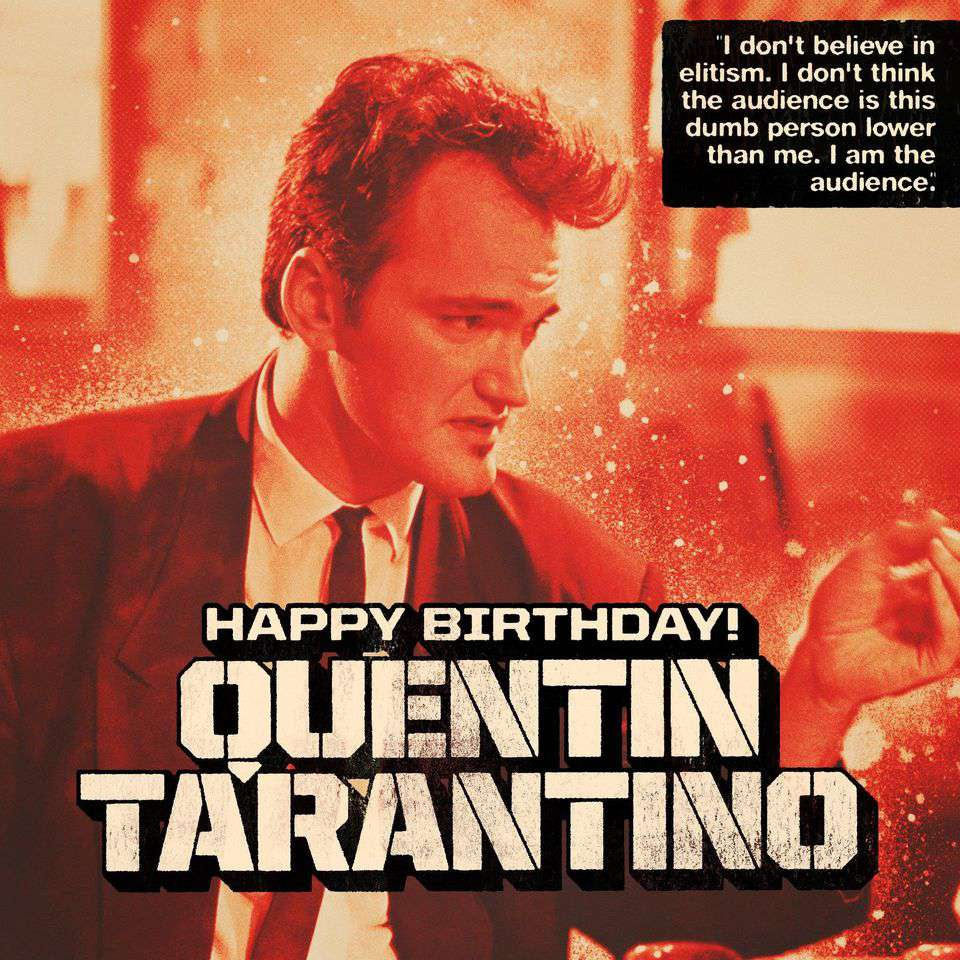 Quentin Tarantino's Birthday Wishes for Whatsapp