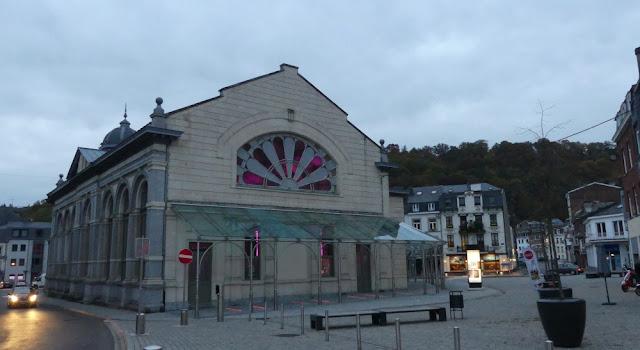 Spa - Touristinformation und Pouhon Pierre-le-Grand