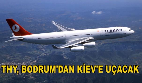 Bodrum - Kiev Direkt Uçak Seferleri