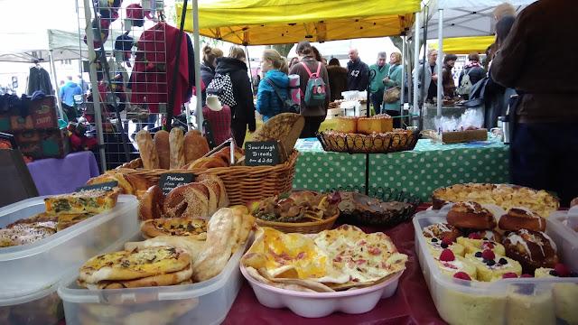 Cosa fare a Edimburgo in un week-end - Stockbridge Market - Get in Globe