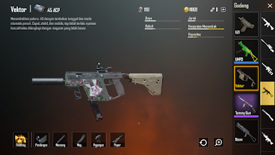 Senjata Paling mematikan Pubg