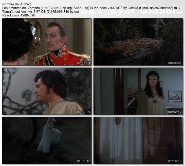 Las amantes del vampiro | 1970 | The Vampire Lovers - Secuencias de la película